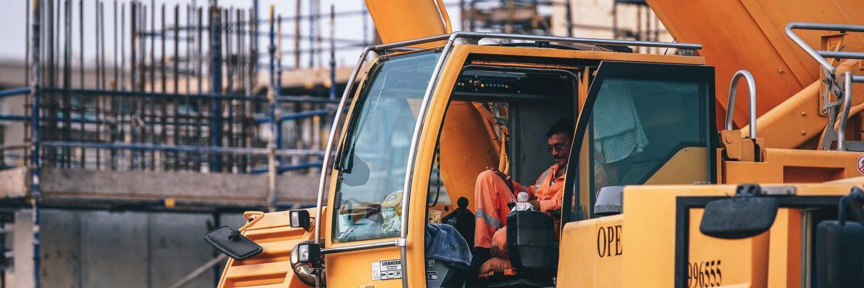 Mobile crane hijskraan